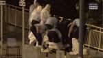 警員集體路邊除連身保護衣 4大錯誤易令警民陷感染風險