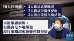 【武漢肺炎】19人打邊爐2人確診7人測試呈陽性反應 張竹君:有機會