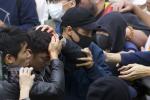 【多片】腰斬中環集會4便衣警遇襲 劉頴匡涉煽動群眾情緒被捕
