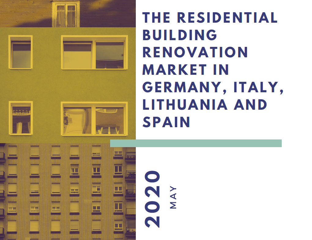 The residential building renovation market in Germany, Italy, Lithuania and Spain: new analysis by RenOnBill