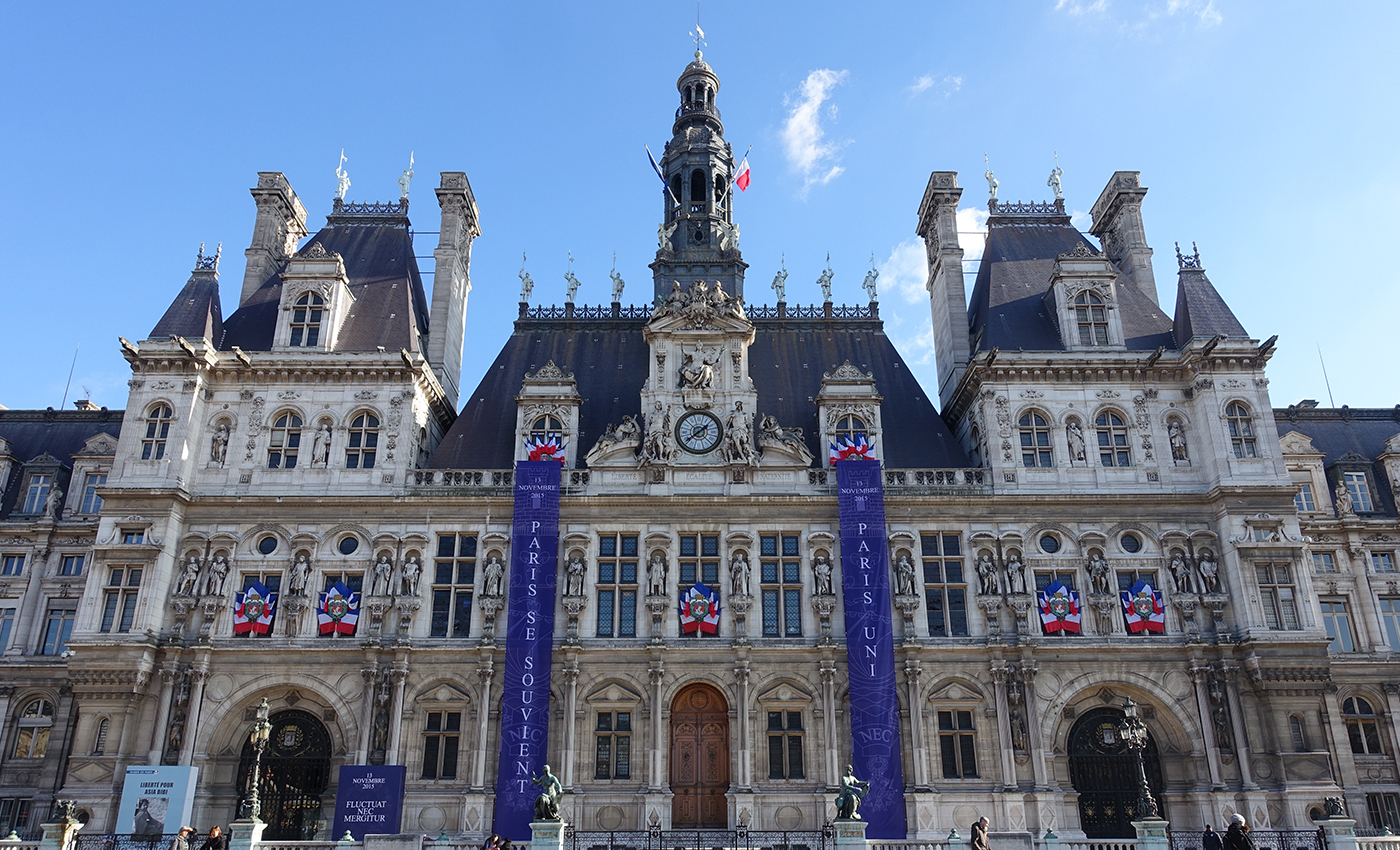 Paris city hall has been fined for employing too many senior women.