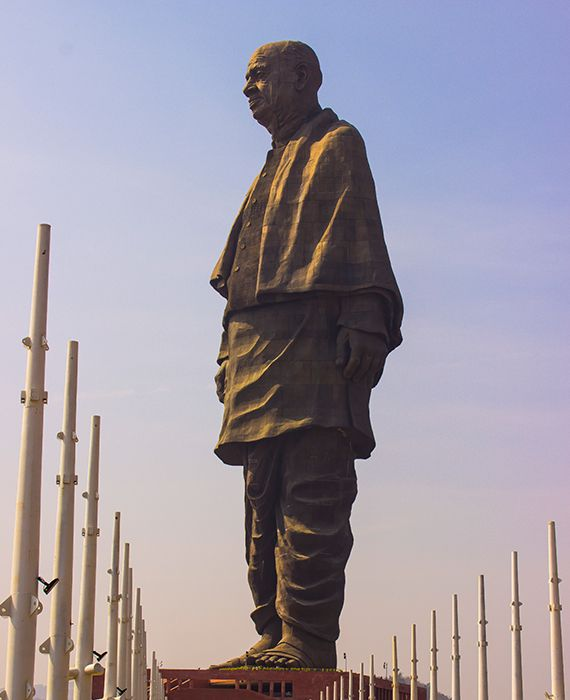 Sardar Vallabhbhai Patel's 'Statue of Unity' was made in China.