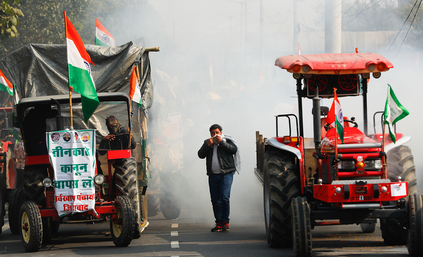 The people protesting are not farmers, they are insurrectionists.