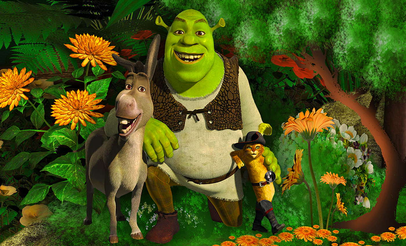 The character of Shrek was based on a real person named Maurice Tillet.