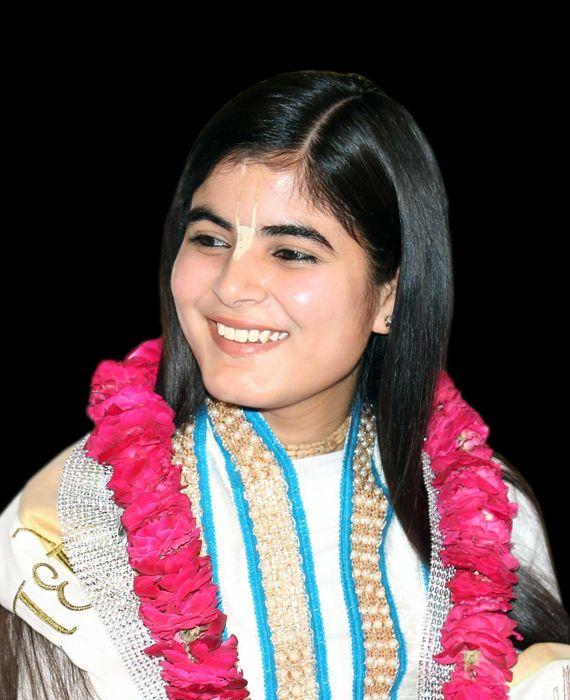 Chitralekha Devi, an Indian spiritual saint has married a Muslim.