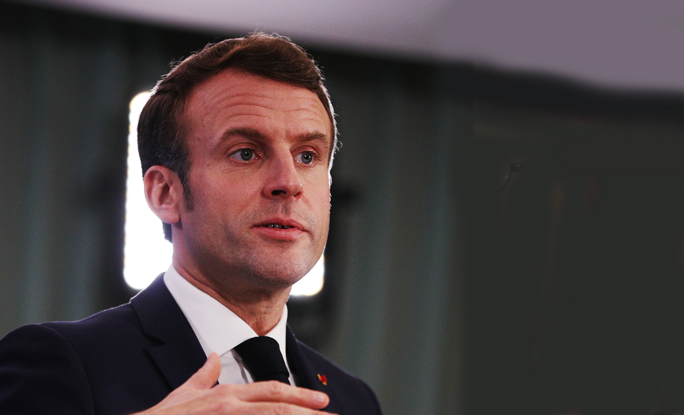 Only vaccinated people will have access to the healthcare system in France, Emmanuel Macron said.