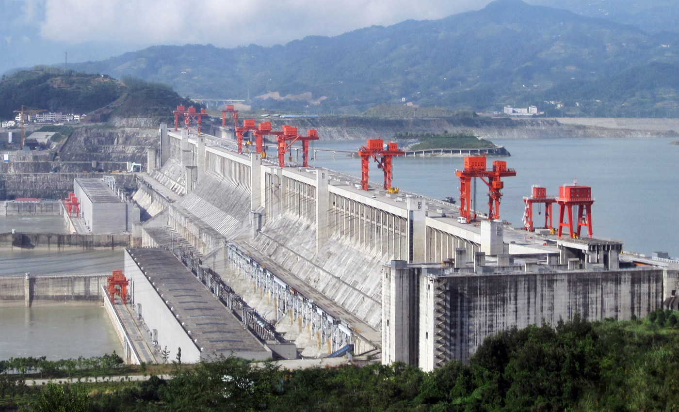 The Three Gorges Dam caused the earthquake at Yibin in Sichuan province in China on June 17, 2019.