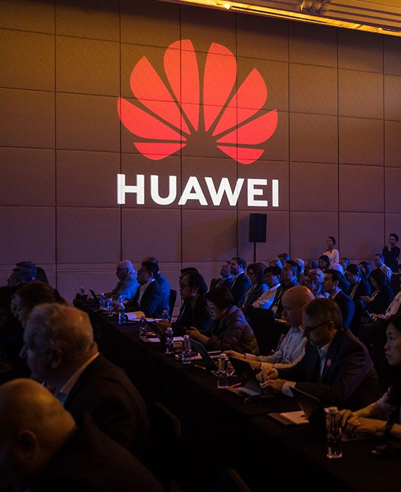 The U.S. has banned Huawei for its links to the Communist Party of China.