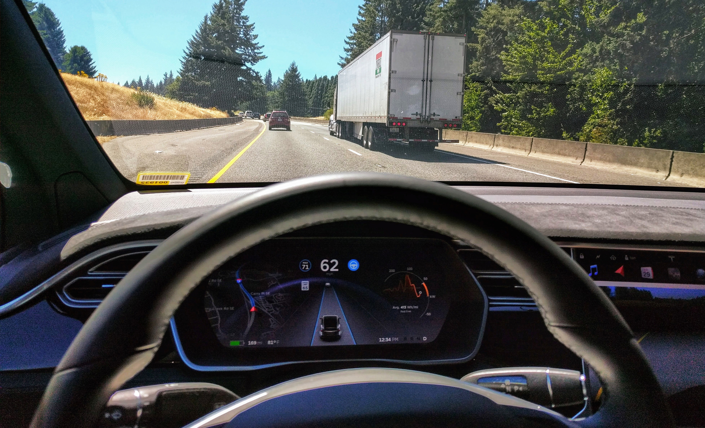 A car driver has been arrested for falling asleep after putting his Tesla car on autopilot at 140kmph.