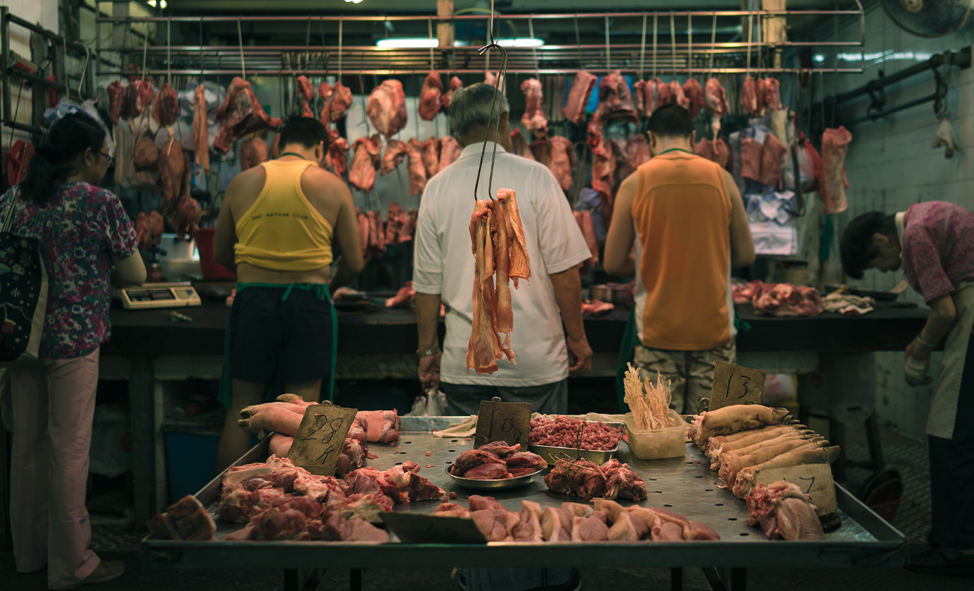 India has the world's second-lowest rates of meat consumption per person.