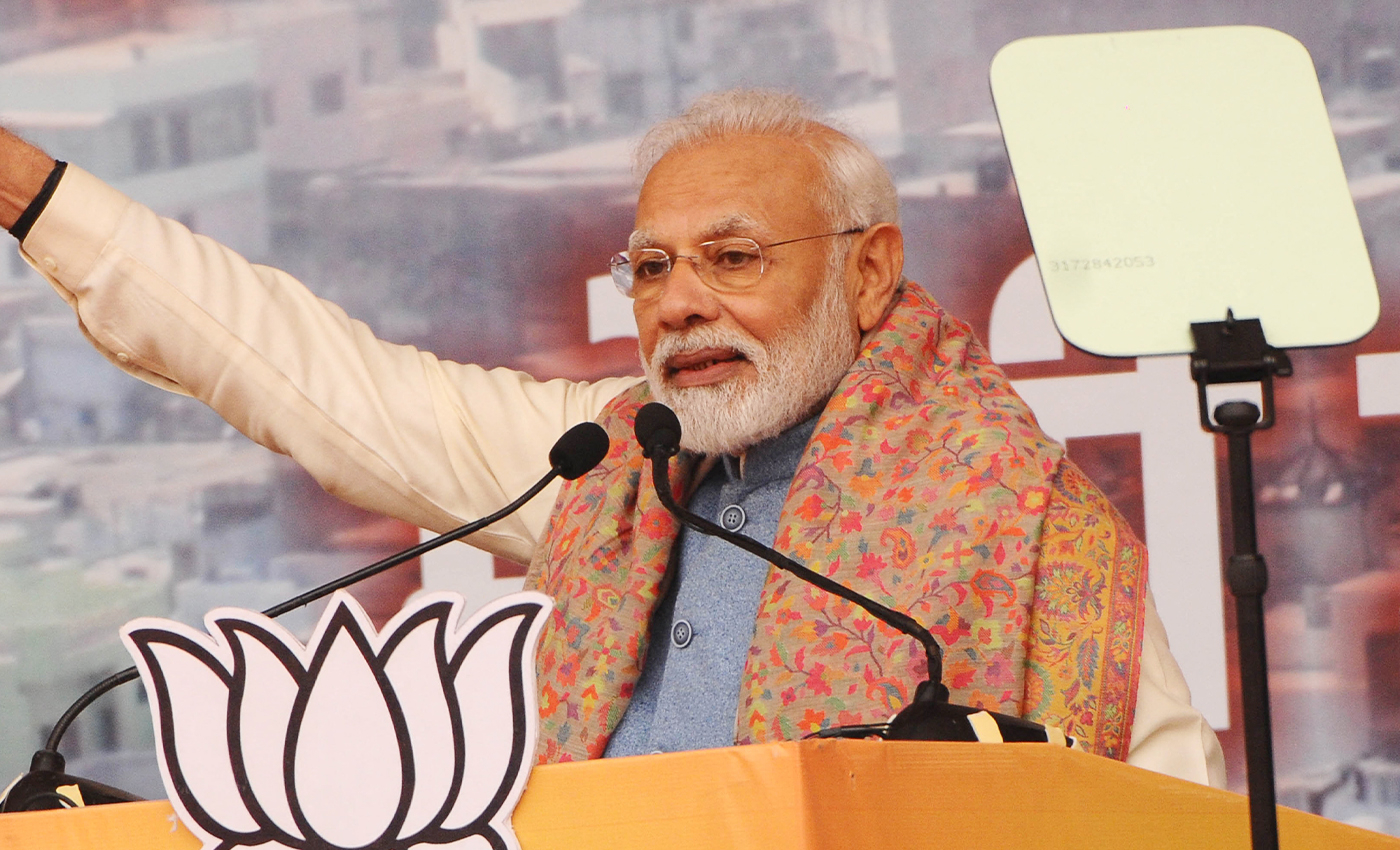 Prime Minister Narendra Modi breached the election protocol by addressing a rally in Howrah on April 6.