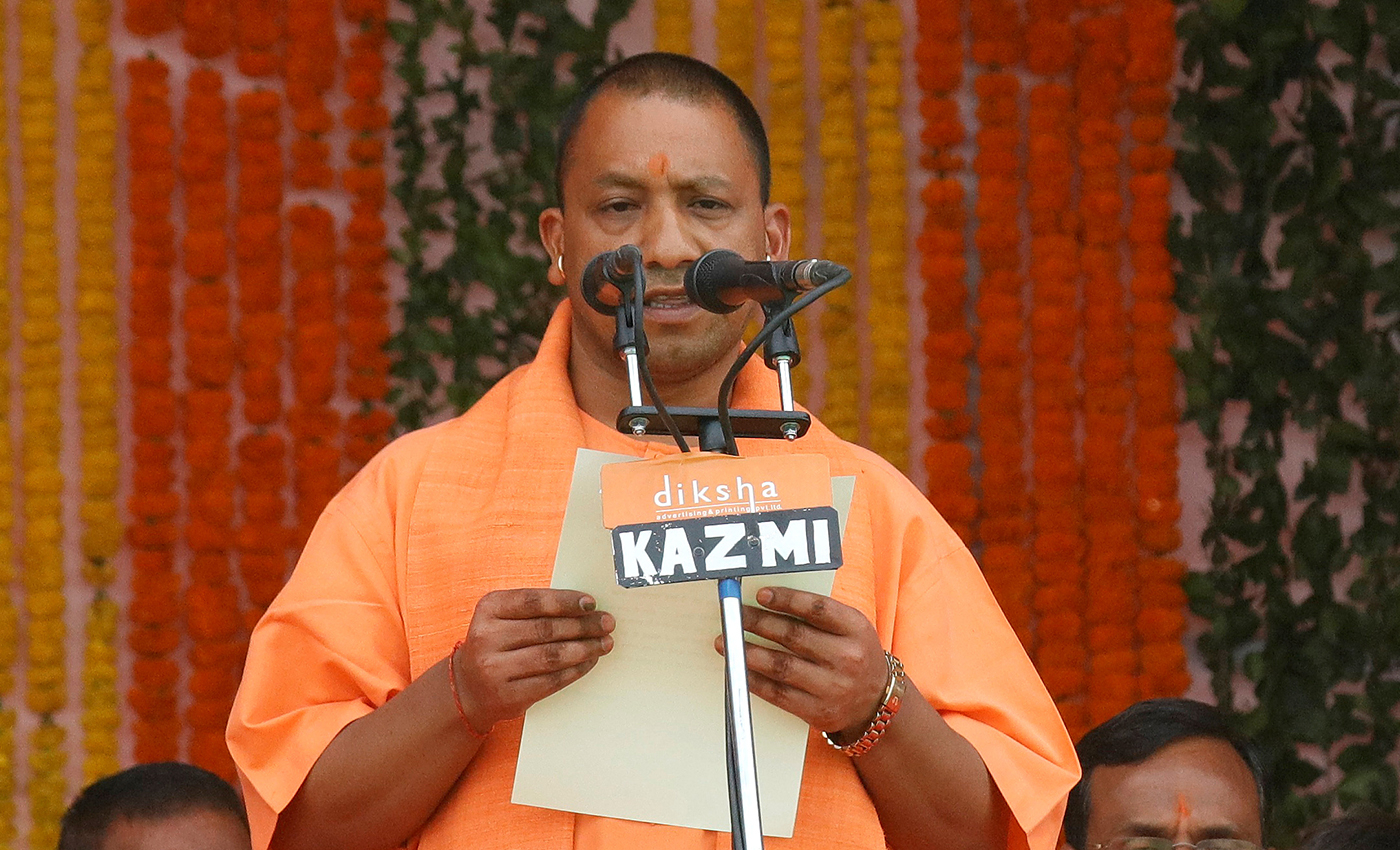 Yogi Adityanath: If BJP comes to power in Bengal, TMC goons will hang placards from their neck seeking forgiveness for their crimes like in UP.