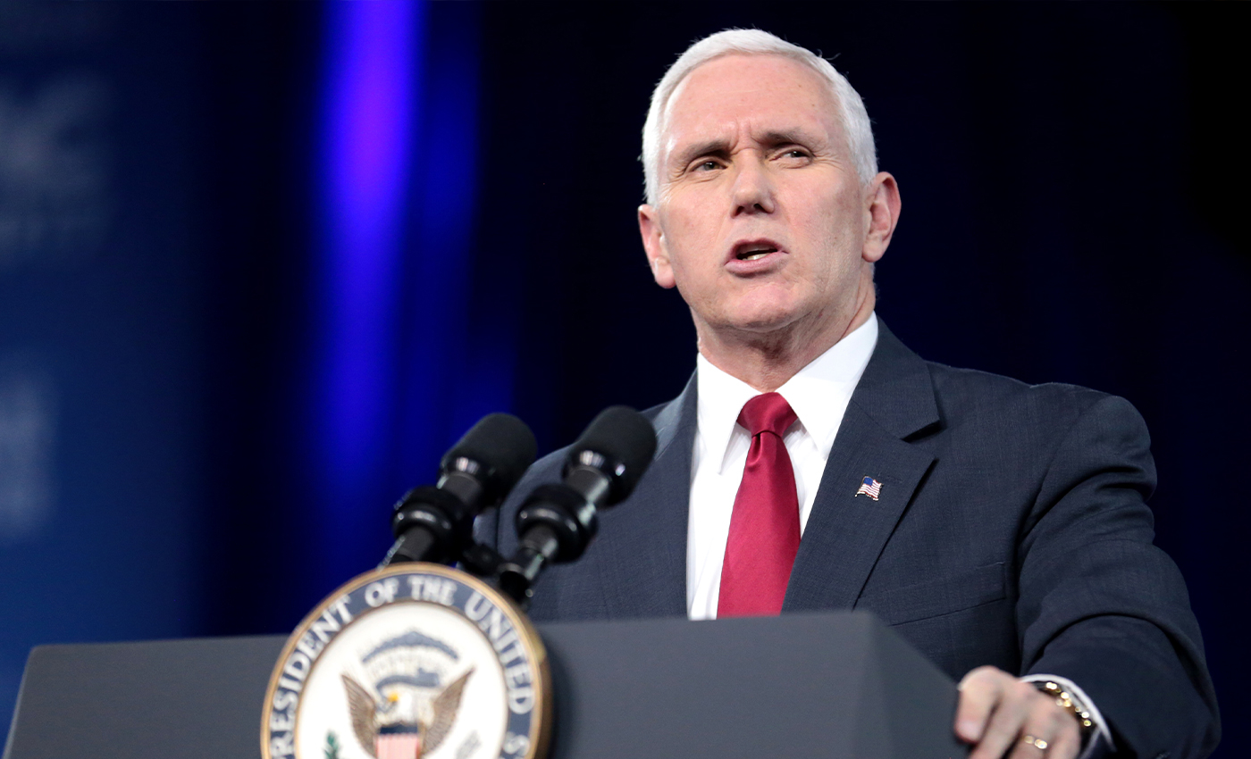 Mike Pence has the power to reject election results.