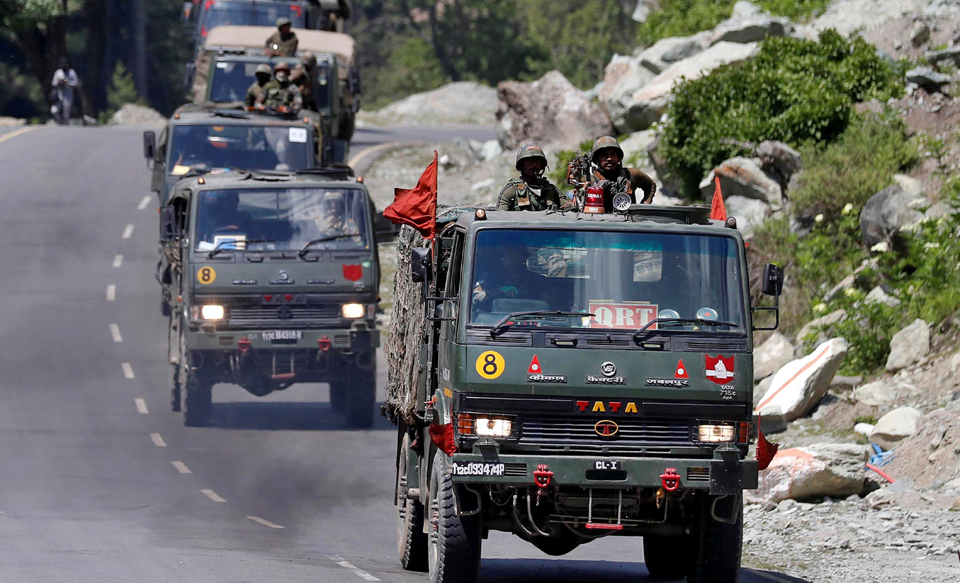 The Indian Army has currently gone 42 kms deeper into Chinese territory.