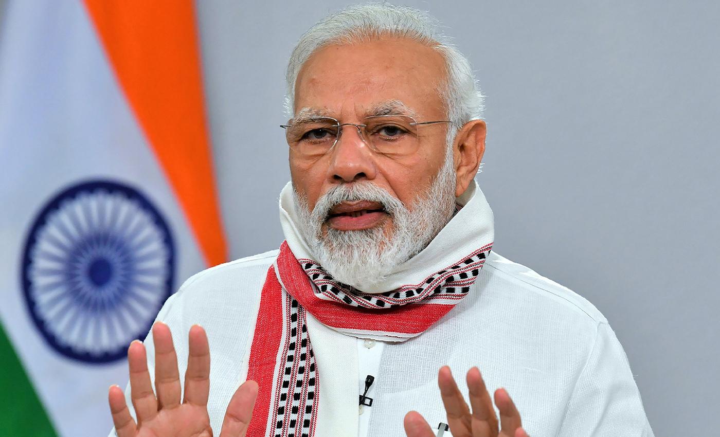 "Time Magazine's cover page referred to Prime Minister Narendra Modi as a ""super-spreader""."