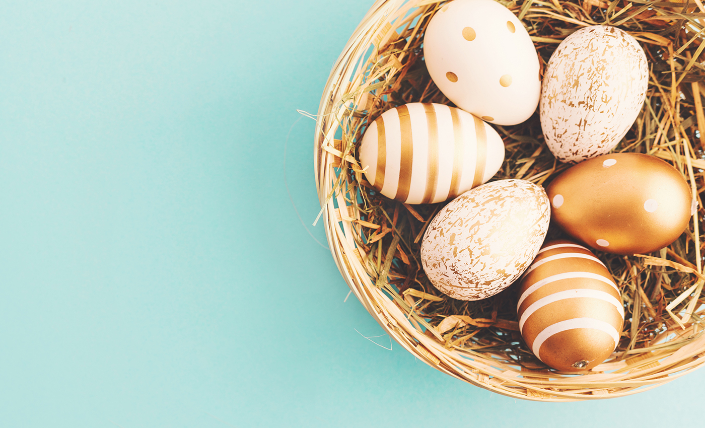 The word 'Easter' gets its name from Eastre, an Anglo-Saxon goddess.