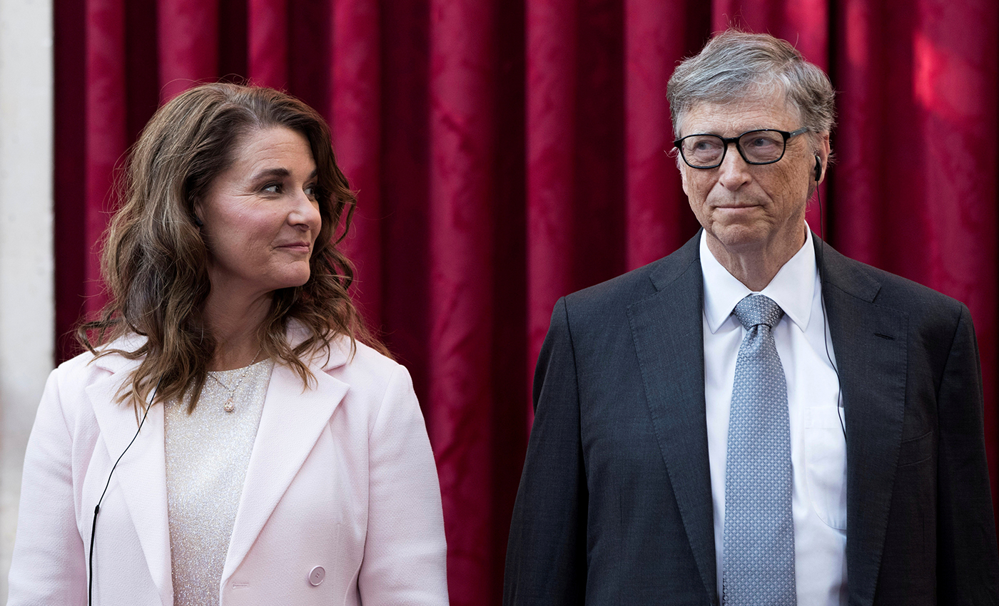 Bill Gates was removed from Bloomberg's billionaire list after he announced his divorce.