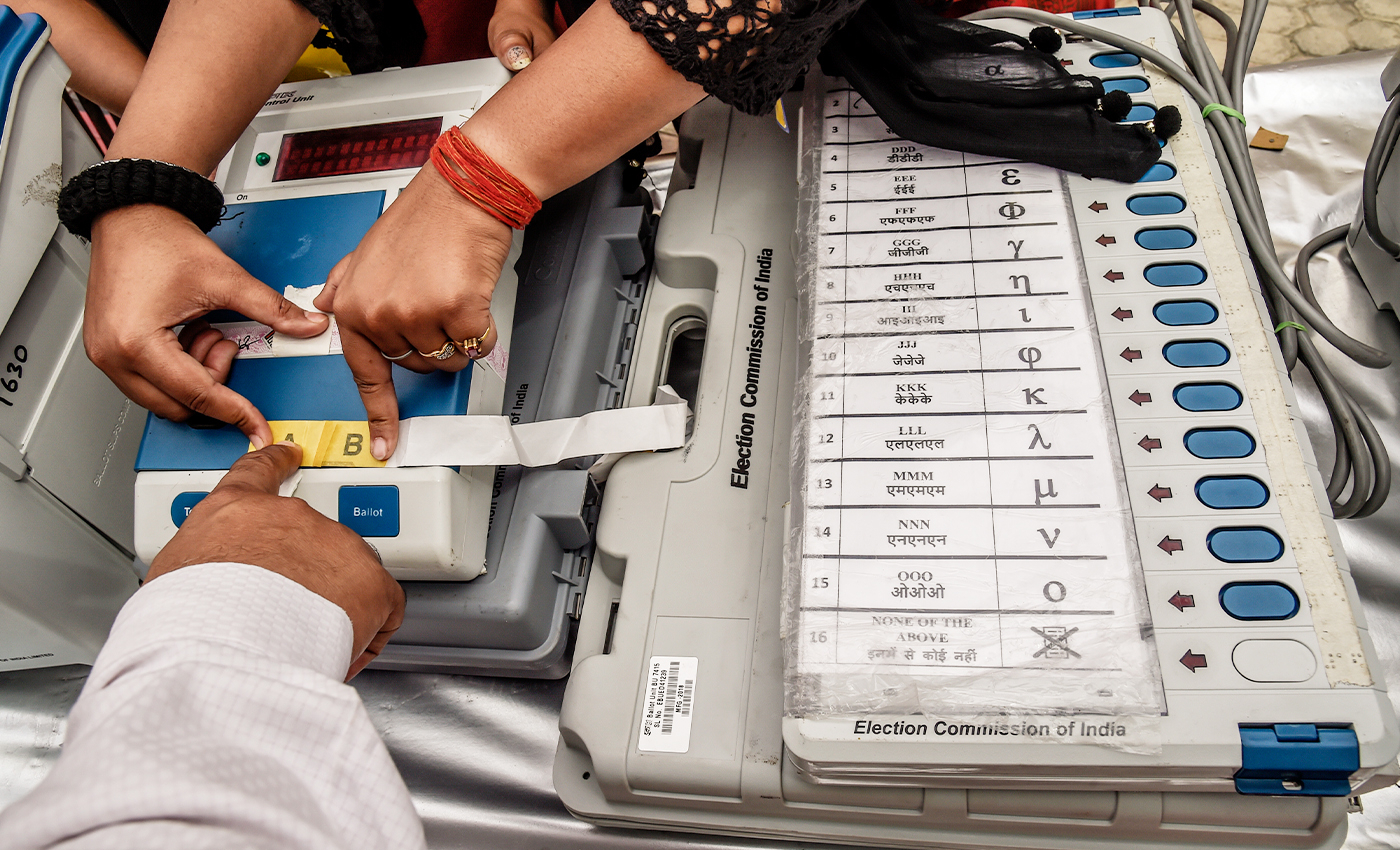 Over 1 lakh voters whose names have not been included in the National Register of Citizens may not be allowed to vote in the Assam assembly election.