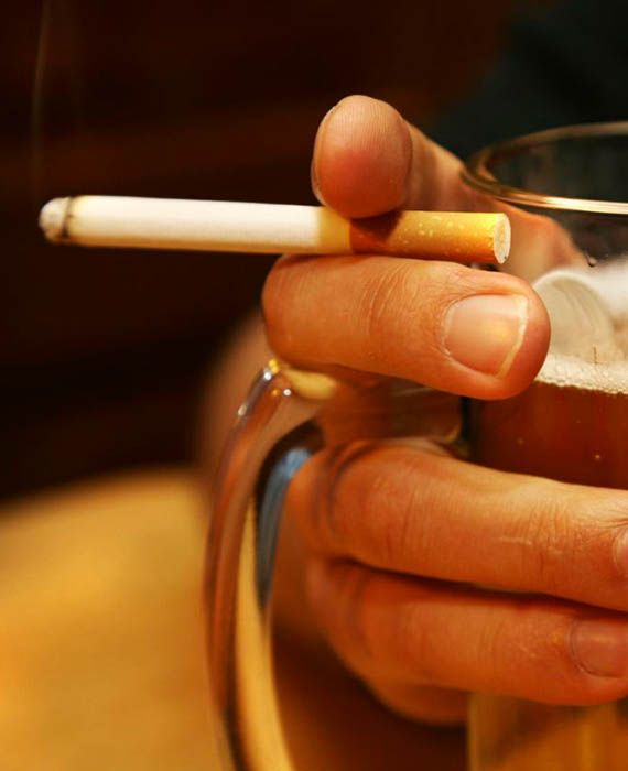 Smokers are less likely to catch Covid-19.