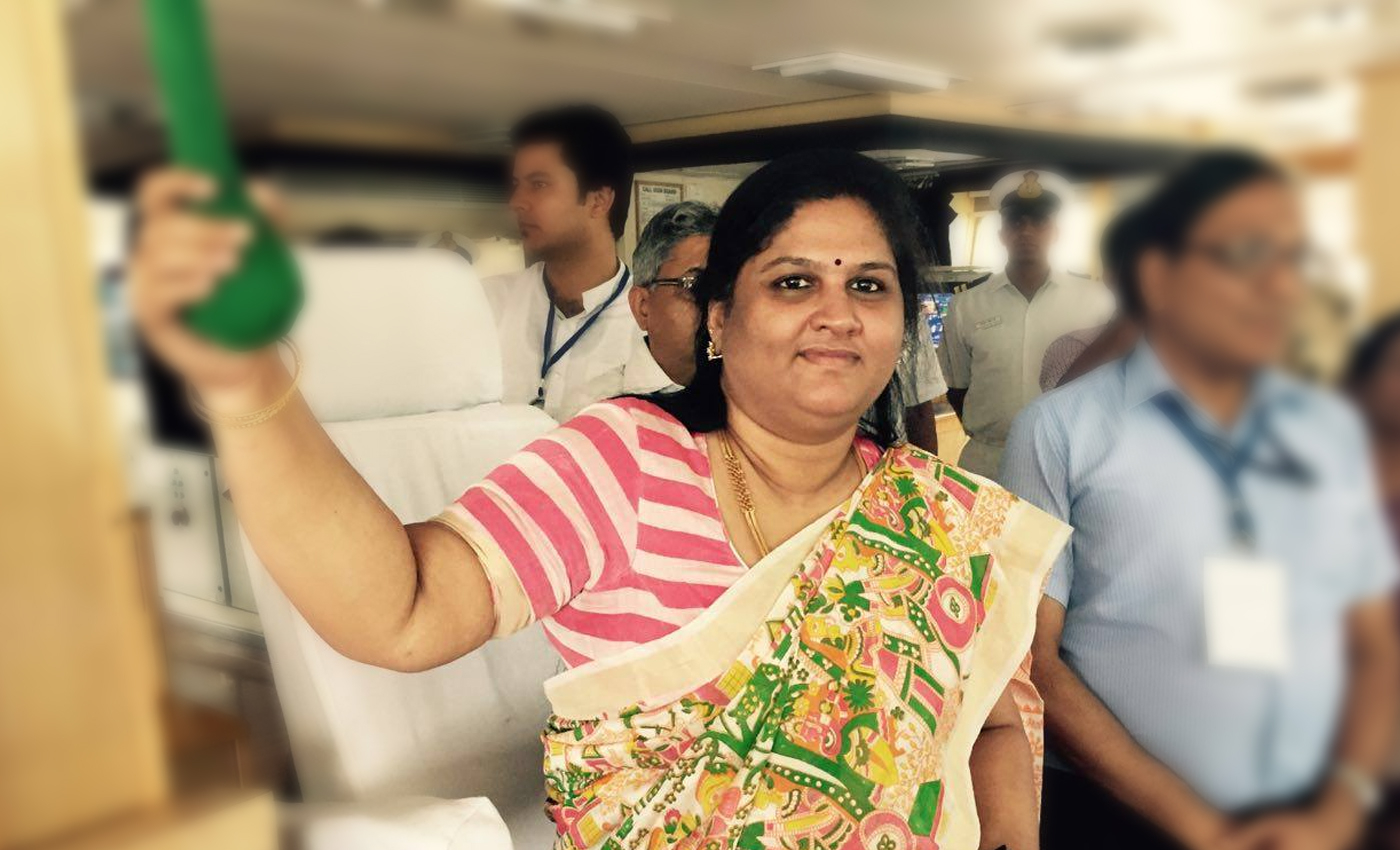 CBI has filed the charge sheet against BJP MP Kothapalli Geetha over a fraud case.