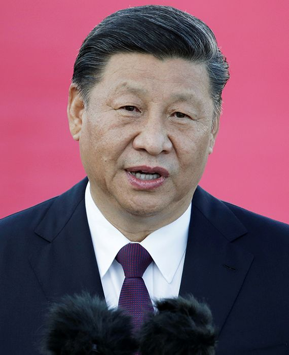 Xi Jinping signed into law the Hong Kong national security bill in a closed-door meeting.