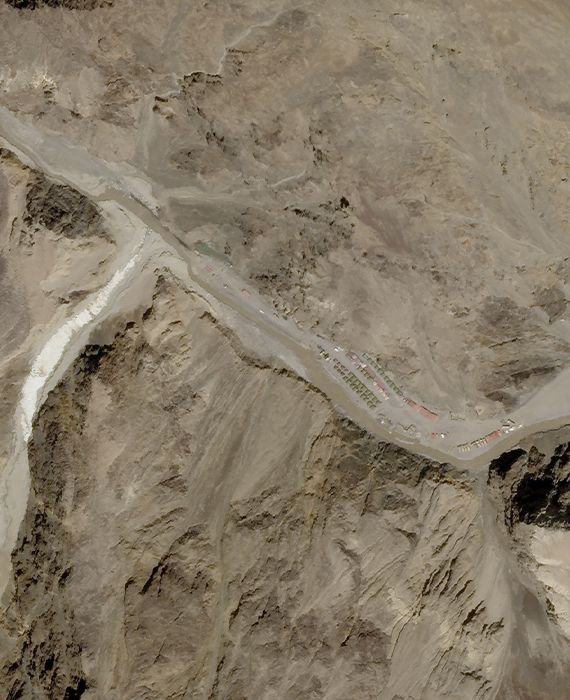 The Chinese military has occupied Indian land in the Galwan valley.