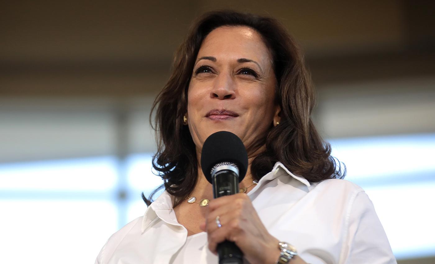 Kamala Harris doesn't qualify to serve as the U.S. vice-president.