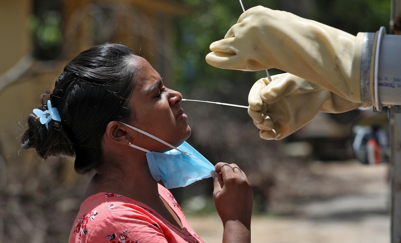 Coronavirus disappears in political rallies in India.