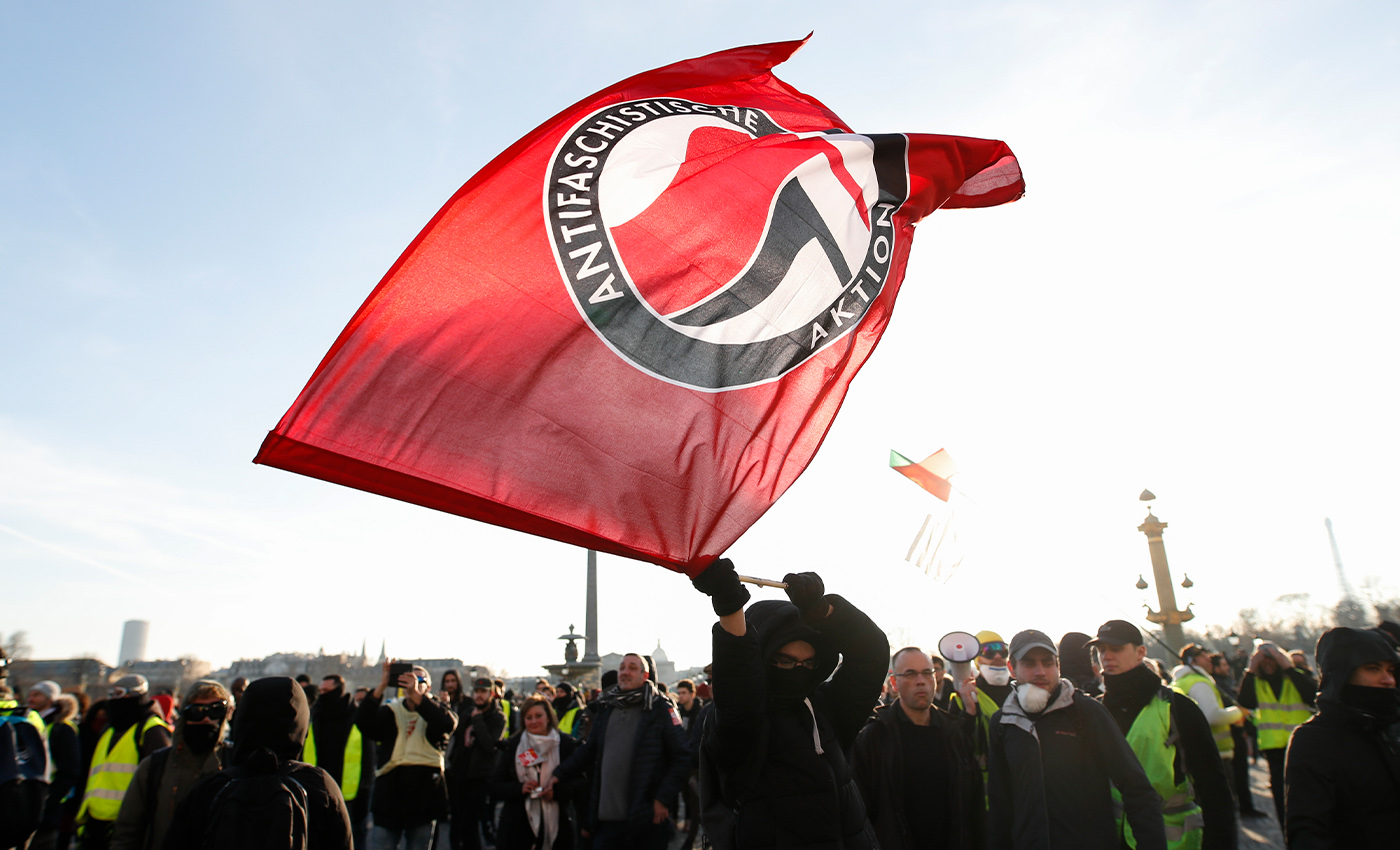 AntiFa is affiliated with the Democratic Party.