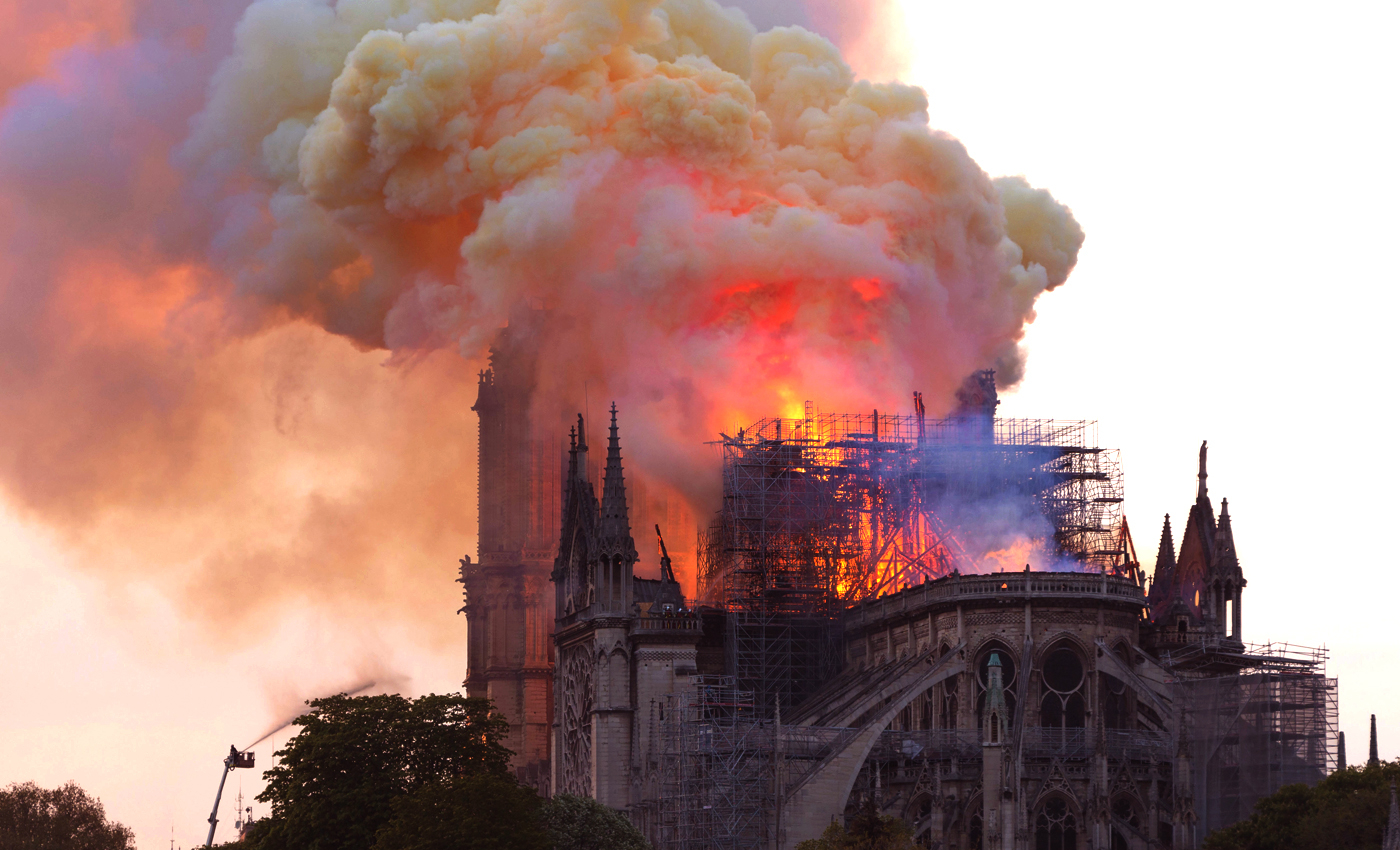 Toxic lead from the Notre Dame Cathedral fire was found in local honey.