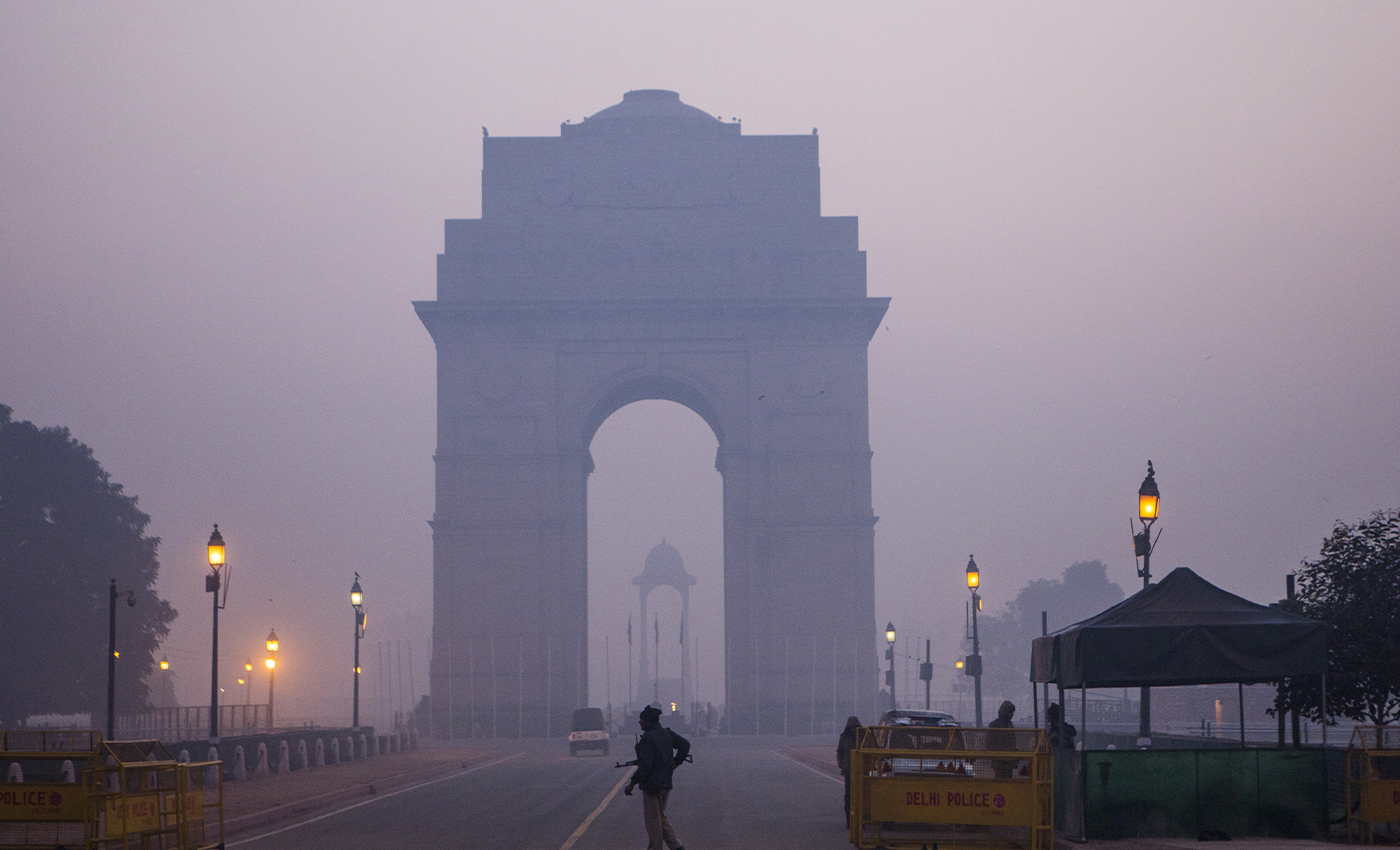 Weekend curfew imposed in Delhi to contain COVID-19 pandemic.