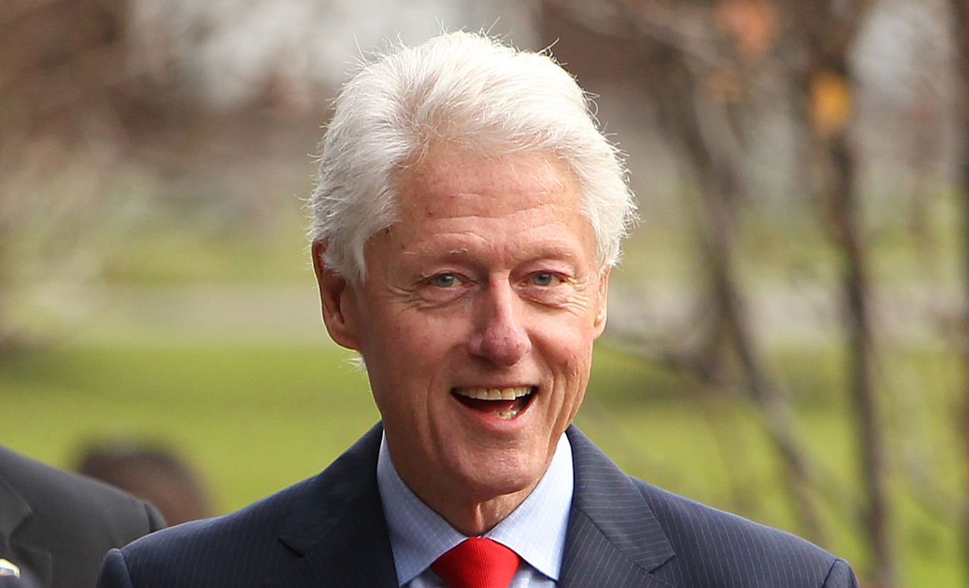 Only 56% of Democrats wanted to hear Bill Clinton speak at the Democratic National Convention.