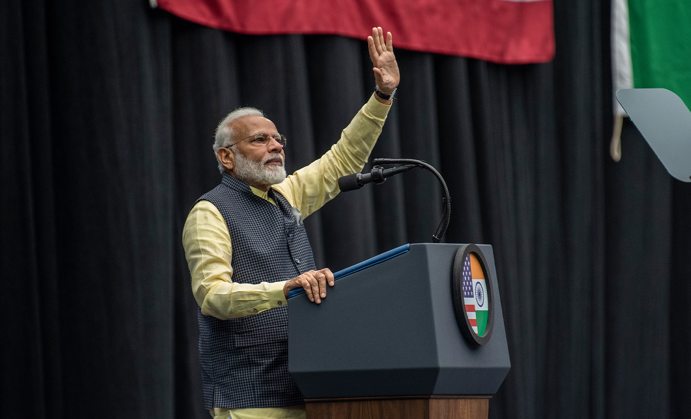 Prime Minister Narendra Modi has never addressed an open press conference.