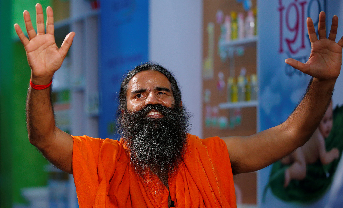 Indian spiritual leader Baba Ramdev has been hospitalized and is on ventilator support.