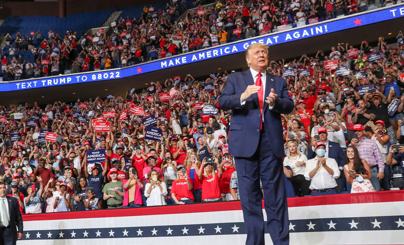 Donald Trump's re-election campaign committee has raised more money at this point in the cycle than any incumbent president in history.