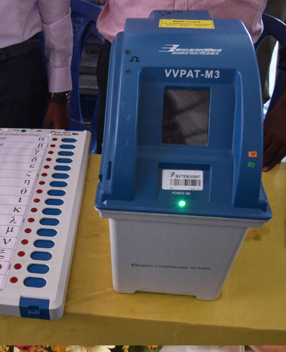 EVMs and VVPAT machines are being tampered with days before election results.
