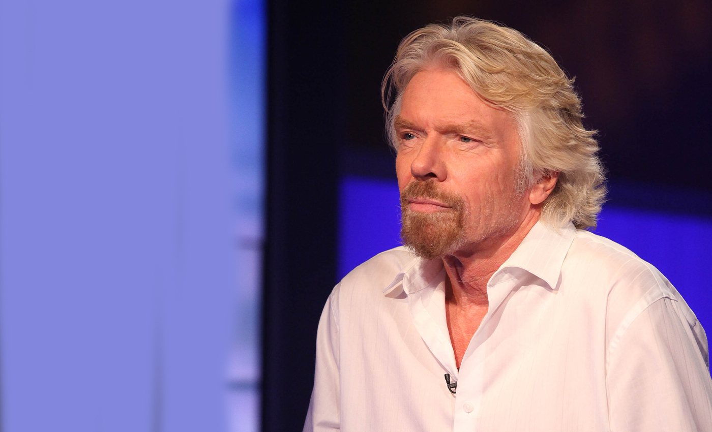 Richard Branson left the Earth's orbit on his space trip.
