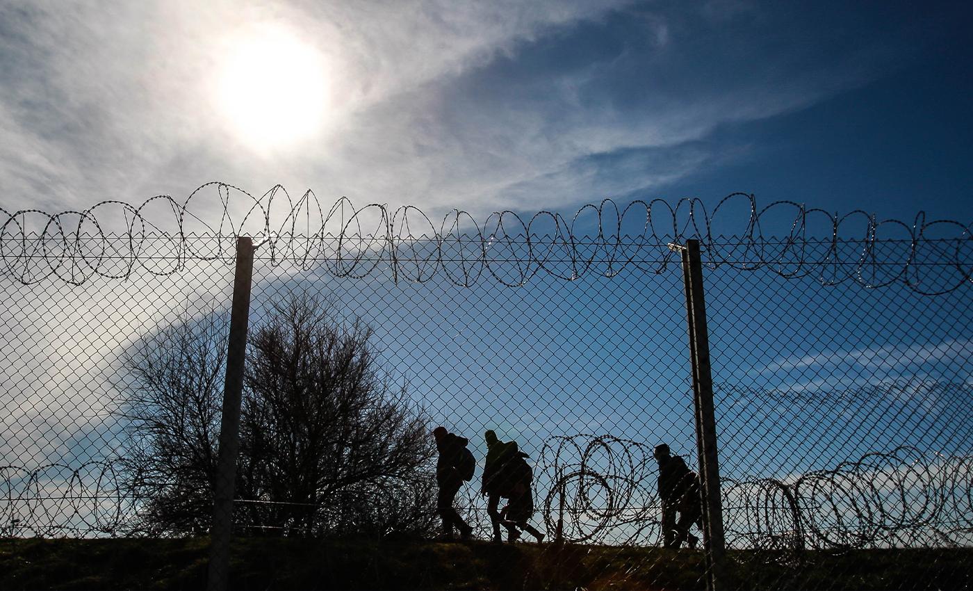 Donald Trump says that migrant caravans have reached the U.S. border.
