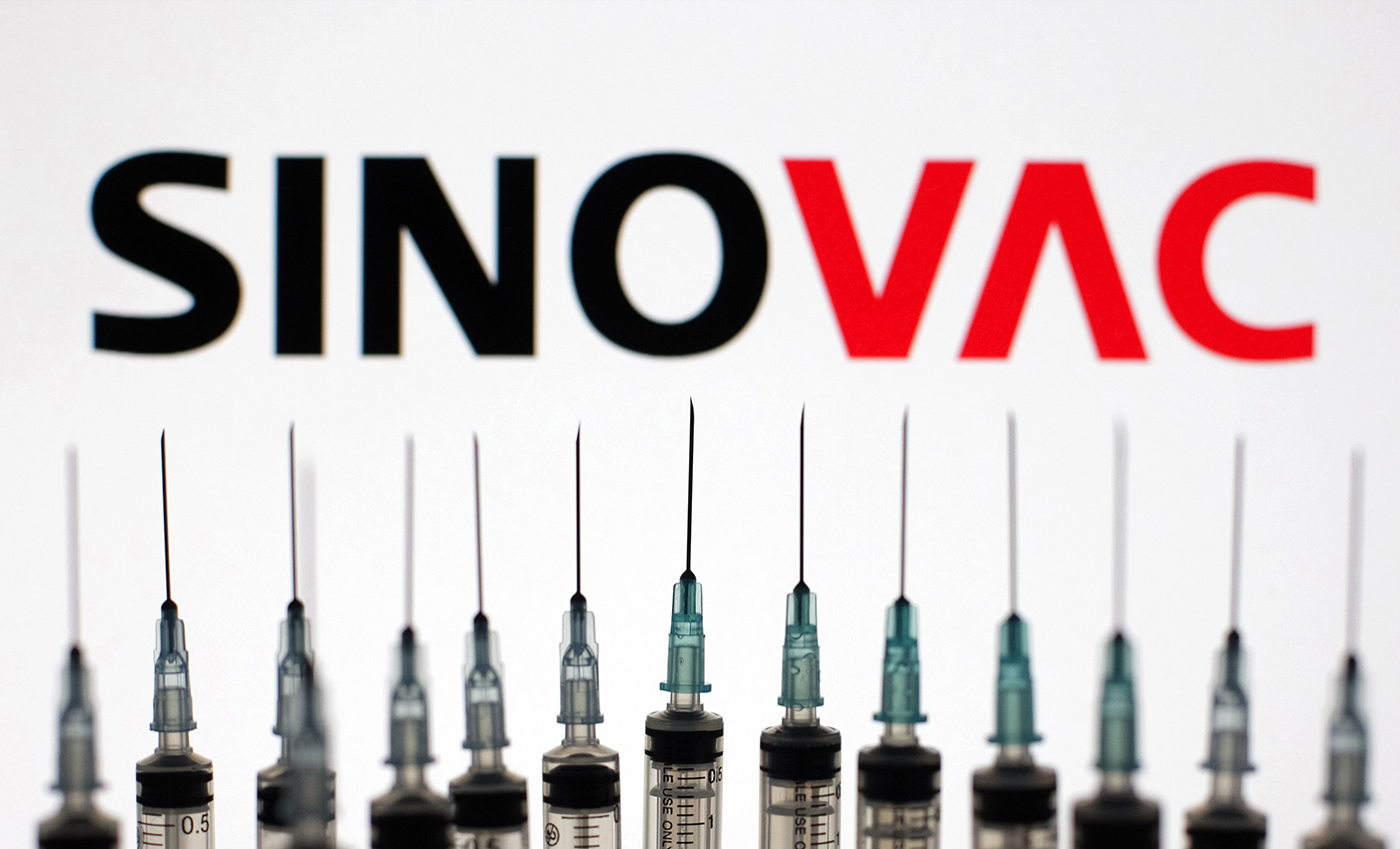 The Sinovac COVID-19 vaccine has been proven to be ineffective in Thailand.
