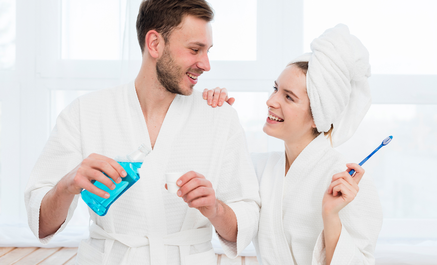 Using mouthwash daily can cause diabetes.