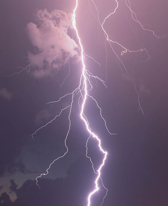 Lightning killed at least 100 people in Northern India.
