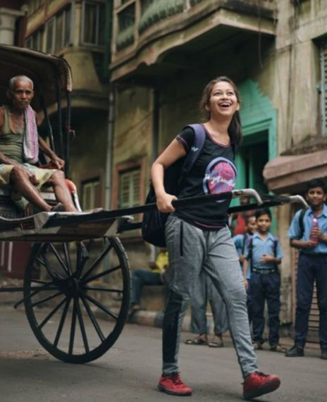 An IAS topper pulled a hand rickshaw introducing her father to the world.