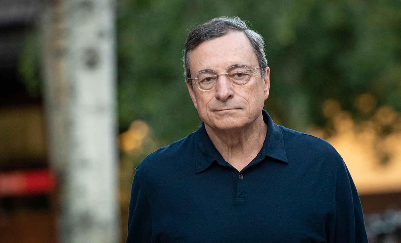 Italian Prime Minister Mario Draghi was attacked by a woman because of his policies on COVID-19.