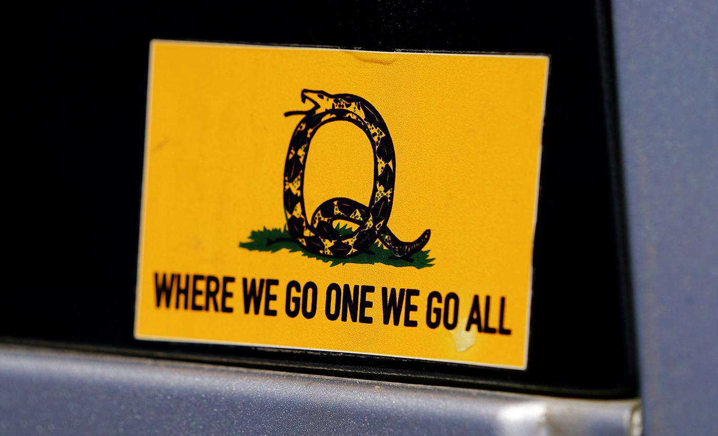 QAnon is a terrorism threat.