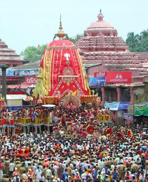 Supreme court stayed the Rath Yatra on 18 June 2020 but reversed its decision later.