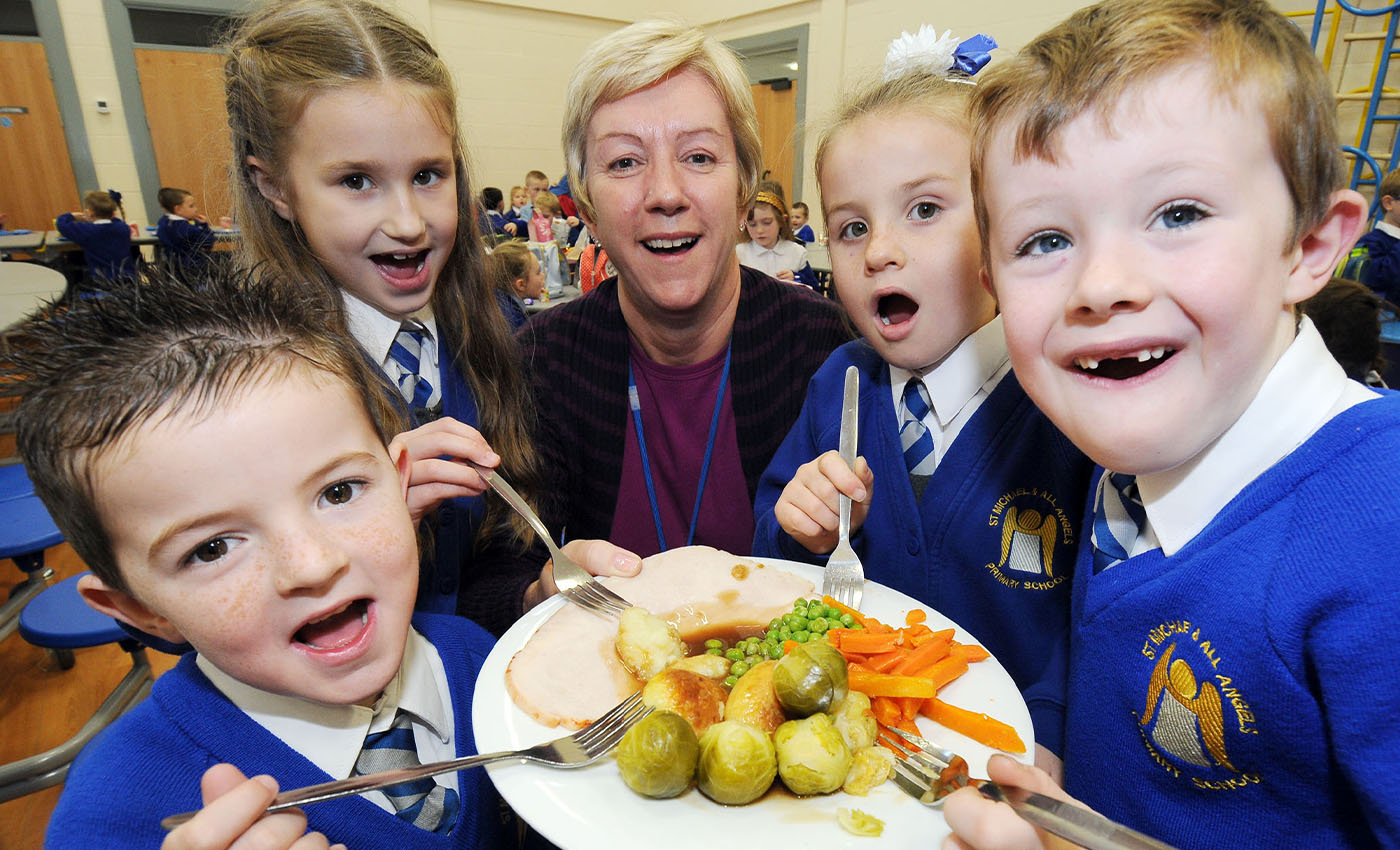 The UK government refused to extend free school meals for children into the half-term holiday.