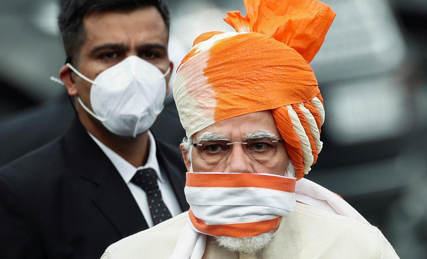 Prime Minister Narendra Modi developed the COVID-19 vaccine in India.