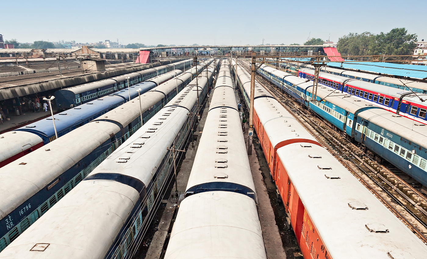 Adani has taken over Indian railways.