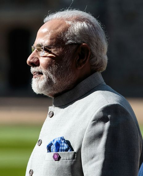 Narendra Modi is called a fascist by multiple newspapers from around the world.