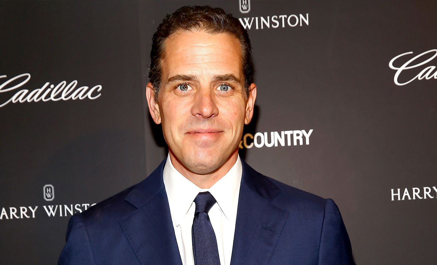 There are photographs of Hunter Biden taking drugs in front of children.